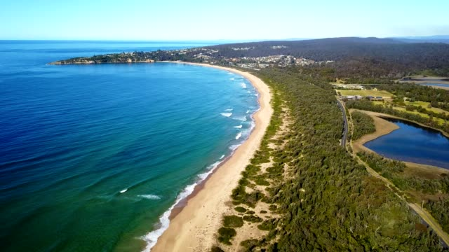 waves of the sea in australia - queensland stock videos & royalty-free footage