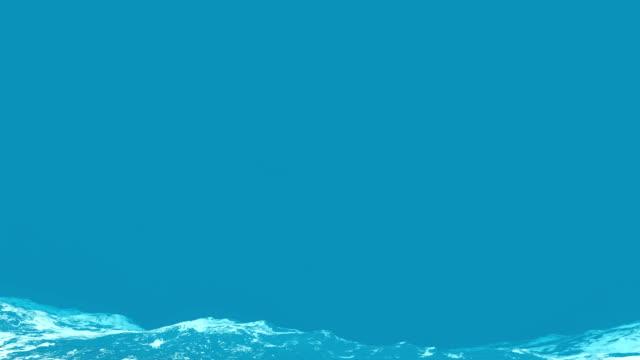 Wellen von Wasser