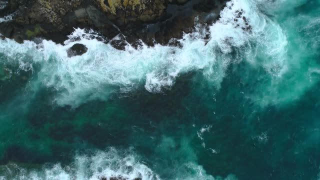 waves splashing. - new zealand culture stock videos and b-roll footage