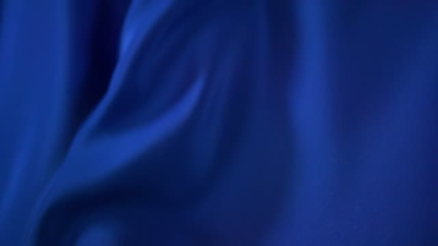 waving blue satin - textile stock videos & royalty-free footage
