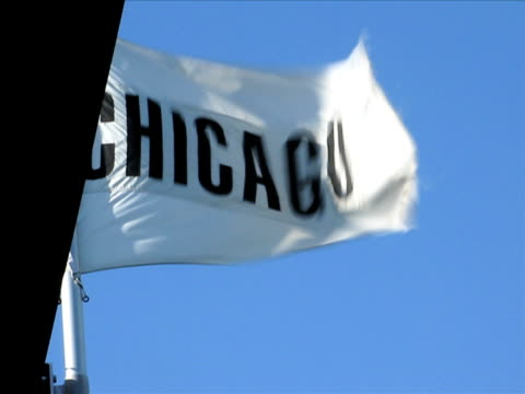 Waving Chicago Flag