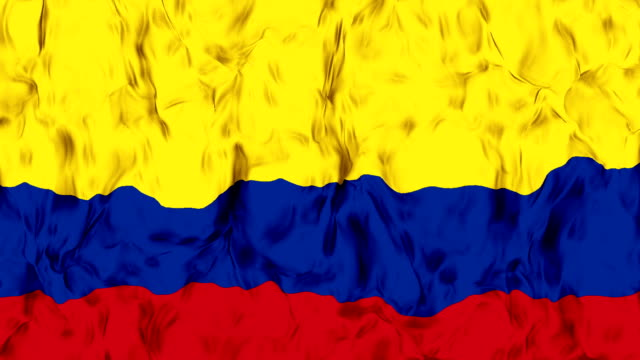 waving colombian flag in slow motion. - colombian flag stock videos and b-roll footage