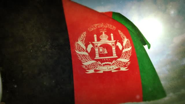 Winken Flagge – Afghanistan