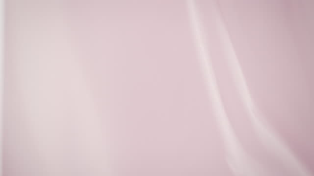 waving silk curtain - pink color stock videos & royalty-free footage