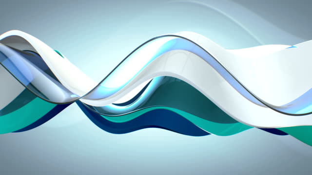 wavy abstract loop