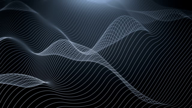 wavy lines - black and white stock videos & royalty-free footage