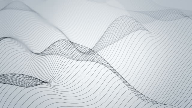 wavy lines - wave pattern stock videos & royalty-free footage