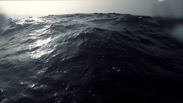wavy, nasty sea - drowning stock videos and b-roll footage