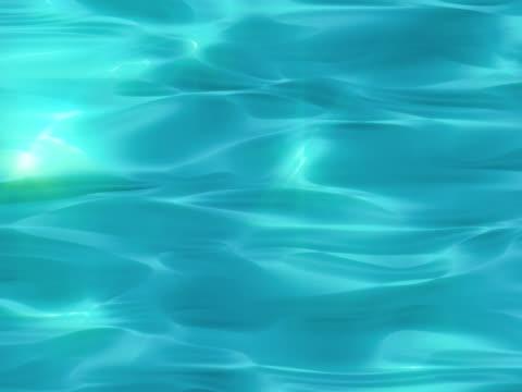 vídeos de stock, filmes e b-roll de ondulado água, piscina - debaixo d'água