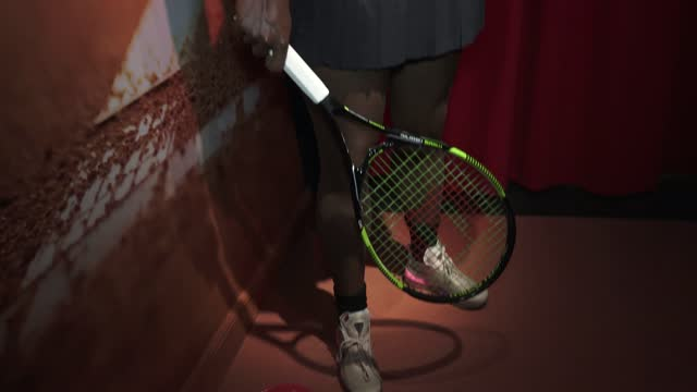 wax figure of tennis player serena williams is seen during the inauguration of the remodeled wax museum on december 03, 2020 in barcelona, spain. the... - serena williams tennis player stock videos & royalty-free footage