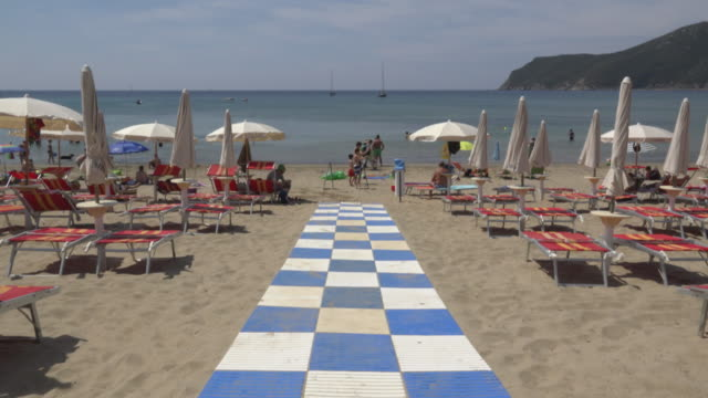tu/ way to lacona beach - island of elba stock videos & royalty-free footage