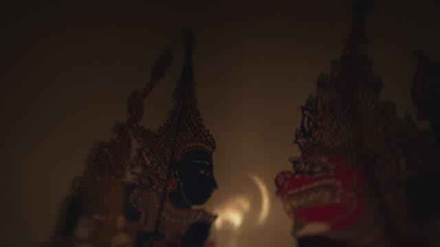 Wayang Kulit (Shadow puppets)