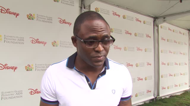 wayne brady on importance of event at the 21st annual 'a time for heroes' celebrity picnic benefit at los angeles ca - a time for heroes stock videos & royalty-free footage