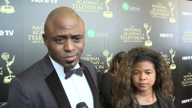 INTERVIEW Wayne Brady on the event on why he wears so many hats and on what advice he's given his daughter about the entertainment industry at the...