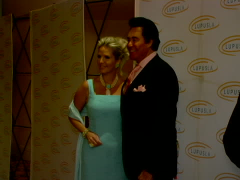 wayne newton and wife kathleen at the 6th annual lupus gala at beverly hills hotel in beverly hills, california. - wayne newton stock videos & royalty-free footage