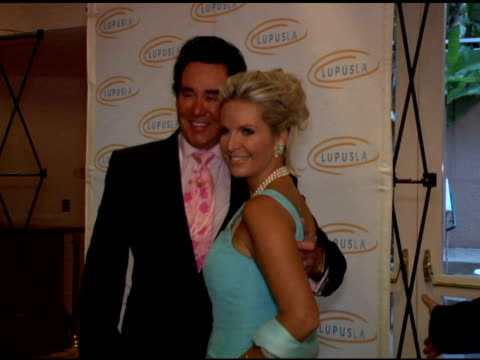 wayne newton and wife kathleen at the 6th annual lupus gala at the beverly hilton in beverly hills, california on may 11, 2006. - wayne newton stock videos & royalty-free footage