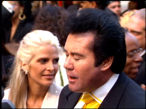 wayne newton at the 'beverly hills cop 3' premiere at grauman's chinese theatre in hollywood, california on may 22, 1994. - wayne newton stock videos & royalty-free footage