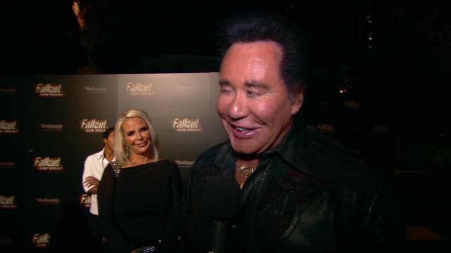 wayne newton on the event. at the 'fallout: new vegas' launch party at las vegas nv. - wayne newton stock videos & royalty-free footage