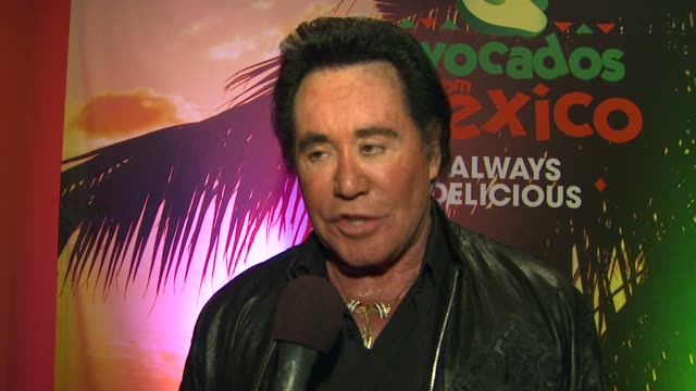 wayne newton talks about his favorite movie gone with the wind and another movies with jimmy stewart, and his favorite avocado dish is all of them at... - wayne newton stock videos & royalty-free footage