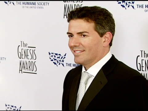 Wayne Pacelle Humane Society of the United States President and CEO at the 2008 Genesis Awards at the Beverly Hilton in Beverly Hills California on...