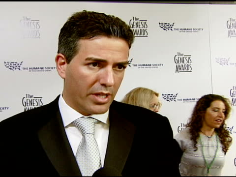 Wayne Pacelle Humane Society of the United States President and CEO on the event and honoring celebrities at the 2008 Genesis Awards at the Beverly...