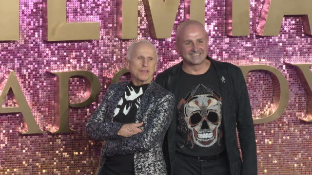 Wayne Sleep and Jose Bergera at Bohemian Rhapsody World Premiere at Wembley Arena on October 23 2018 in London England
