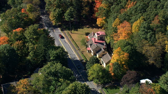 Wayside House  - Aerial View - Massachusetts,  Middlesex County,  United States