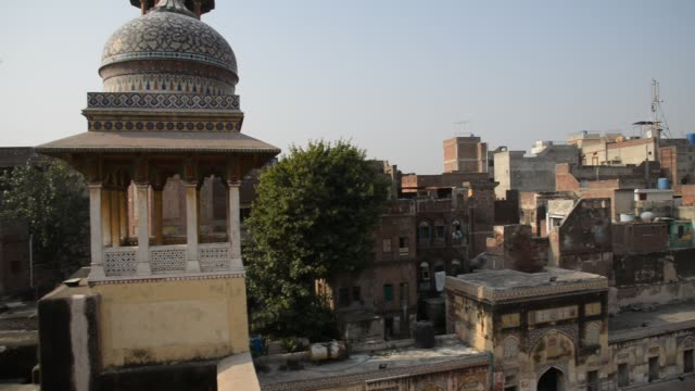 wazir khan mosque - lahore pakistan stock videos & royalty-free footage