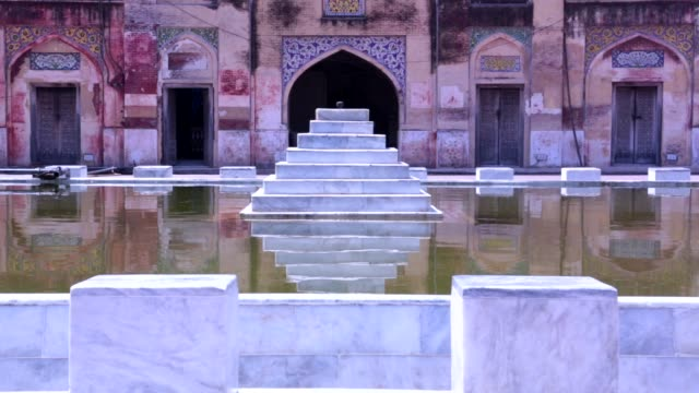 wazir khan mosque - lahore stock videos and b-roll footage
