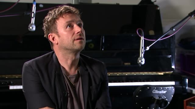 'We Are Many' film / David Albarn interview ENGLAND London INT Damon Albarn interview SOT I remember visiting Ken Livingstone and Jesse Jackson the...