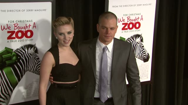 'We Bought A Zoo' Premiere Red Carpet at the Ziegfeld Theater on in New York NY