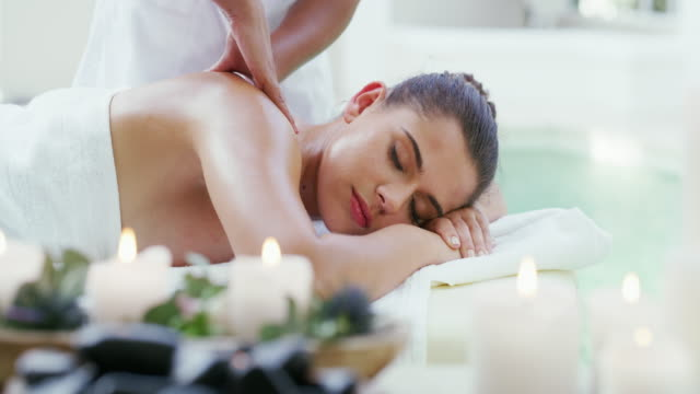 we give all our clients the royal treatment - massage stock videos & royalty-free footage