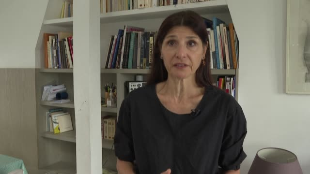 """""""we must stand with charlie"""": reporters without borders editor-in-chief pauline adès-mével calls on the french to mobilise in support of freedom of... - publication stock videos & royalty-free footage"""
