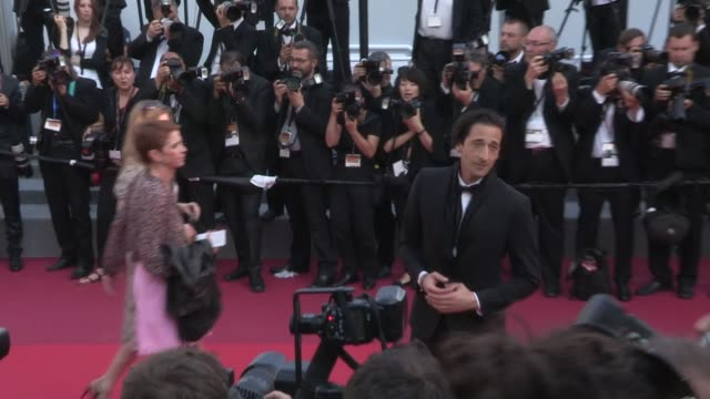 We spotted Adrien Brody Mohamed Diab Karel Och jury president Uma Thurman and jury members Reda Kateb and Joachim Lafosse more on the red carpet for...