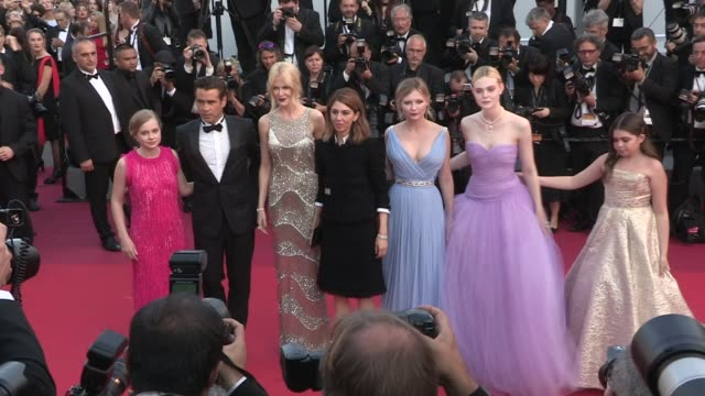 vidéos et rushes de we spotted elle fanning kirsten dunst collin farrell nicole kidman sofia coppola angourie rice and addison riecke and more on the red carpet for the... - festival international de cannes