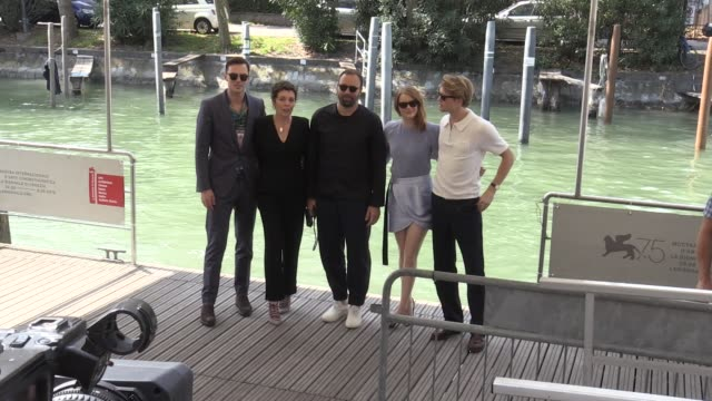 We spotted Emma Stone Nicholas Hoult Olivia Colman Yorgos Lanthimos Joe Alwyn and more in Venice for the Film Festival 2018 and the promotion of...