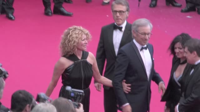 We spotted Jury members Christoph Waltz Cristian Mungiu and Lynne Ramsay Steven Spielberg and Kate Capshaw Thomas Vinterberg Paolo Sorrentino Daniela...