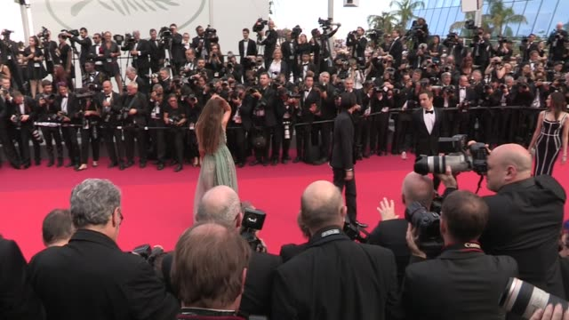 We spotted Lara Lieto and Adrien Brody on the red carpet for the 70th Anniversary of the Cannes Film Festival on May 23 2017 in Cannes France