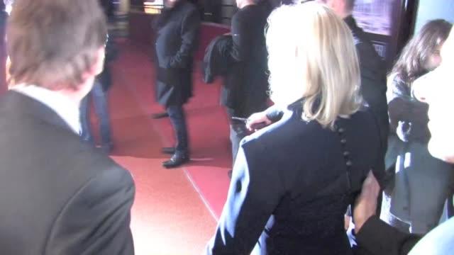 We spotted the Actress Glenn Close attending 'Albert Nobbs' Paris Premiere at UGC Cine Cite des Halles in ParisParis France on Sunday February 19...