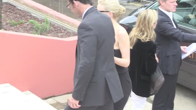 we spotted the american actor leonardo dicaprio and the cast of his latest movie the great gatsby promoting their flick in cannes during the film... - tobey maguire stock videos and b-roll footage