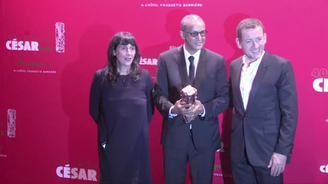 vidéos et rushes de we spotted the celebrities attending the diner party of the 40th cesar awards at the fouquet's restaurant in paris, among them: dany et yael boon,... - 2015