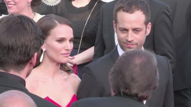 We spotted the gorgeous American actress Natalie Portman and her husband Benjamin Millepied on the red carpet of the opening ceremony of the Cannes...