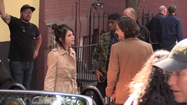 We spotted the Pop superstar Selena Gomez on the Movie set of Woody Allen s new movie in Downtown New York City the legendary director can be seen...