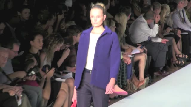 we spotted the runway of the marc jacobs fashion show for the spring / summer 2012 collection marc jacobs runway in new york city ss 2012 on... - marc jacobs designer label stock videos and b-roll footage