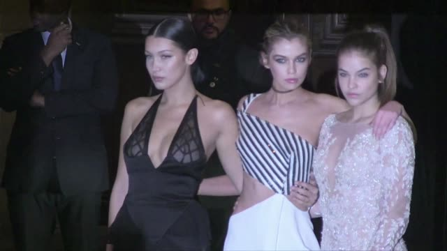 We spotted the stunning Bella Hadid Barbara Palvin Stella Maxwell and more attending the Vogue Party during the Spring Summer 2016 Fashion Week in...