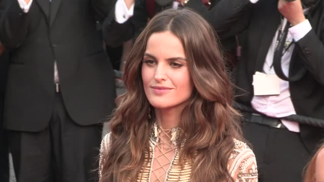 we spotted the stunning models izabel goulart and toni garrn on the red carpet for the premiere of the beguiled at the cannes film festival 2017 on... - izabel goulart stock videos & royalty-free footage