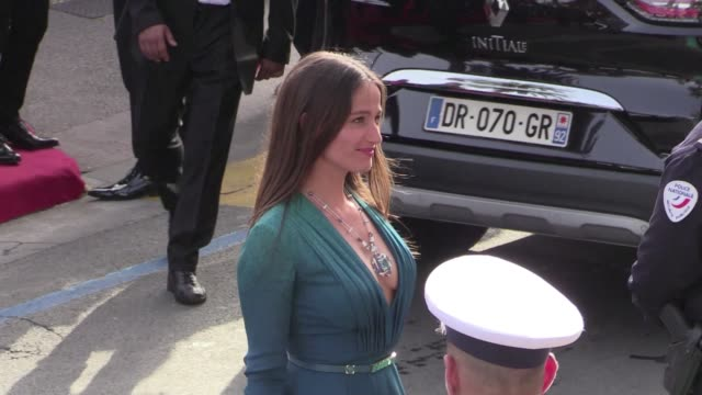 We spotted the Voluptuous Marie Gillain on the red carpet of the opening ceremony of the Cannes Film Festival 2015 Wednesday May 13th 2015 Cannes...