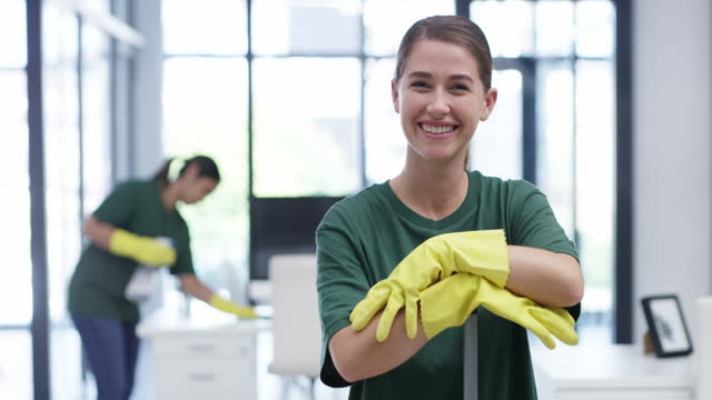 we tailor office cleaning services to meet your needs - dustman stock videos & royalty-free footage