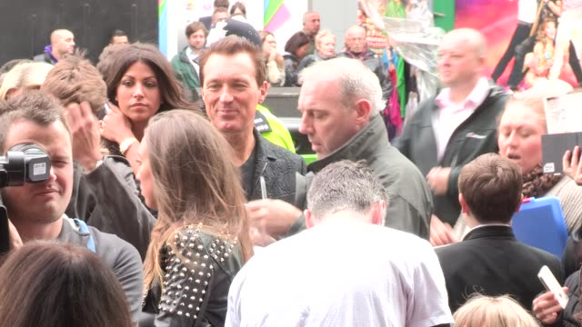 we will rock you - 10 year anniversary celebration at dominion theatre on may 14, 2012 in london, england - the dominion theatre stock videos & royalty-free footage