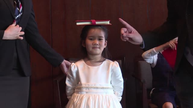 wealthy chinese parents are splashing out on expensive western etiquette classes for children as young as six hoping polished manners and good... - posture stock videos and b-roll footage